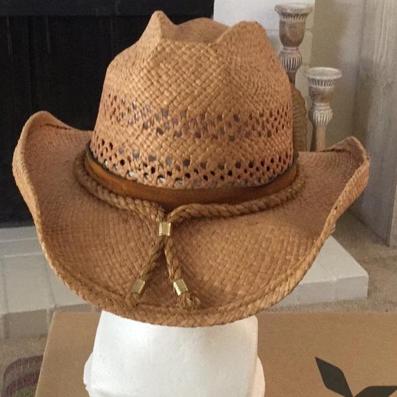 92dfefa637204 Shady Brady Accessories - Shady Brady Straw Cowboy Hat - women s size M